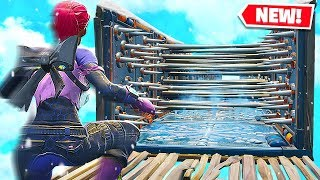 FORTNITE *IMPOSSIBLE* ICE TRAP DEATH RUN! (Playground 3.0 Custom Mode)