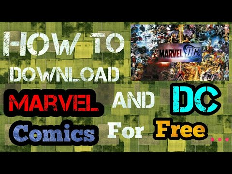 How to download Marvel and DC comics for free !!!!