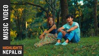 Sadhai Timi Lai   New Nepali Pop Song 2017/2074    Rajan Magar Ft. Amrita Lama