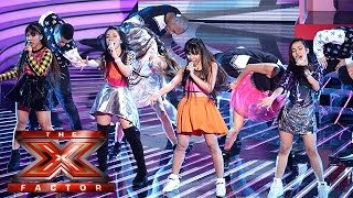 4th Impact cover Girls Aloud and we can't stop clapping! | Live Week 2 | The X Factor 2015
