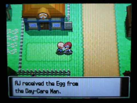 Pokemon Platinum -- Phione Egg Event (USA)