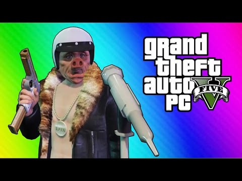 GTA 5 Online Funny Moments - Comedy Club Fun! (Hoodini)