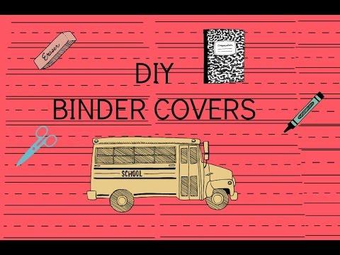 DIY Binder Cover