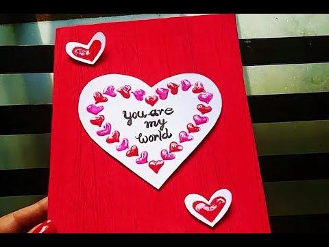 Handmade Card | Card for wife | Card for Husband | 3D Card | Card for Friend
