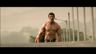 John Abraham showing marvelous lean body