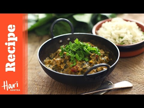 Lamb with Spinach Curry