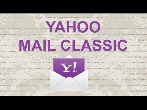 Yahoo mail classic [Update]