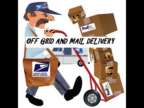 How Do You Get Mail OFF GRID????