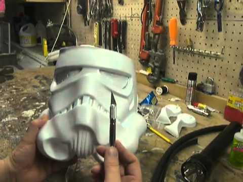 Part 1- How to Assemble a Stormtrooper Helmet