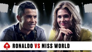 Pokerstars Duel: Cristiano Ronaldo Vs. Miss World