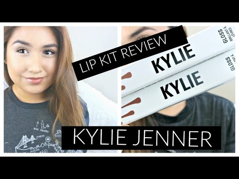 Kylie Lip Kit Unboxing + Review!!