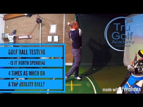 WHAT DIFFERENCE DOES THE GOLF BALL REALLY MAKE?