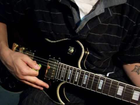 Guitar Lesson Learn Pinch harmonics
