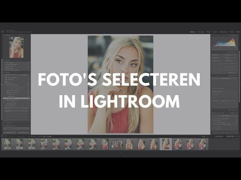 Foto's selecteren in Lightroom