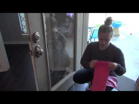 Patio Door Cleaning