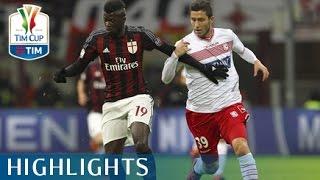 Milan - Carpi - 2-1 - Quarti di finale - TIM Cup 2015/16