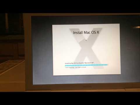 Installing Mac OS X Lion on a Late 2006 Macbook