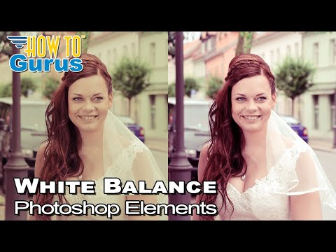 Photoshop Elements White Balance Tutorial : Using Levels to Correct Color in 2018 15 14 13 12 11