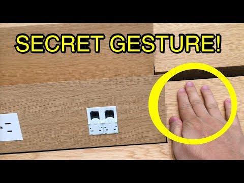 Secret Gesture Opens Trap Door In Apple Store Tables (Genius Bar)