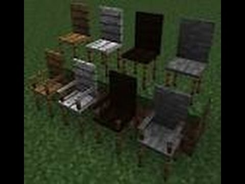 ✔️MINECRAFT  Xbox 360-How To Make A Working Chair