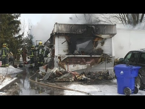 Family tries unfreezing pipes, home goes up in flames