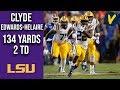 Clyde Edwards Helaire Runs Through Florida 134 Yards 2 TD