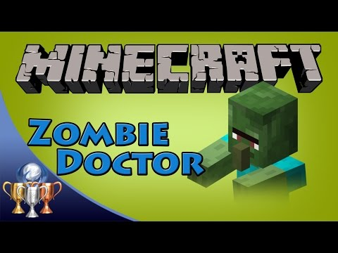 Minecraft [PS4] Zombie Doctor Trophy / Achievement Guide (Cure a Zombie Villager) Nether World