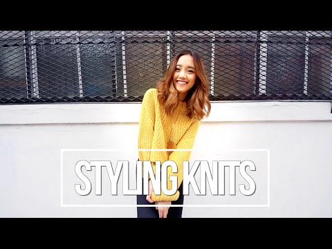 How I Style | Knits