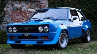 Fiat 131 Abarth Rally - Davide Cironi Drive Experience (ENG.SUBS)