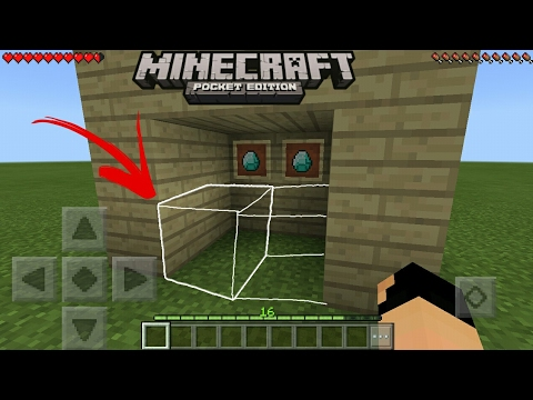 MCPE 1.0.9 How To Make Invisible Block Command Block Creation