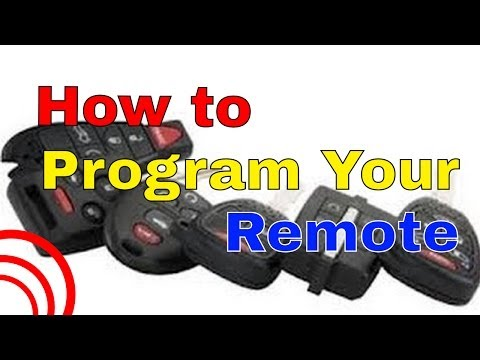 2002 to 2009 Tacoma & Tundra Factory Remote Transmitter Programming How To