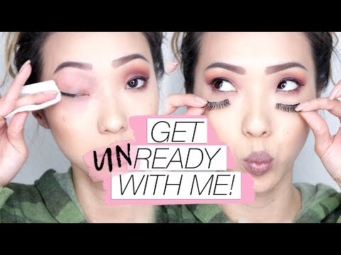 Get Unready With Me! Night Time Routine