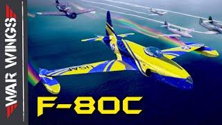 F-80C War Wings Gameplay