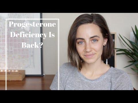 Progesterone Deficiency is Back?