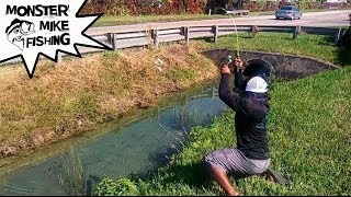 Crystal Water DITCH Fishing!!! What Did I Catch?!?