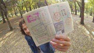 Así se ve un pasaporte COMPLETAMENTE LLENO!