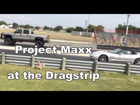 LBZ Duramax at the track! Programmer review Teaser