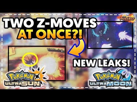 MULTIPLE Z-MOVES DURING BATTLE?! NEW NECROZMA Z-MOVES! - Pokémon Ultra Sun and Ultra Moon