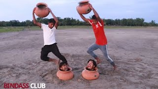 Try to not Laugh challenge must Watch Funny Comedy Video 😂😂 Hindi Comedy Nonstop funny Video