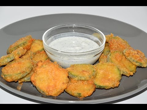 Deep Fried Zucchini Recipe - Bar Food Recipe