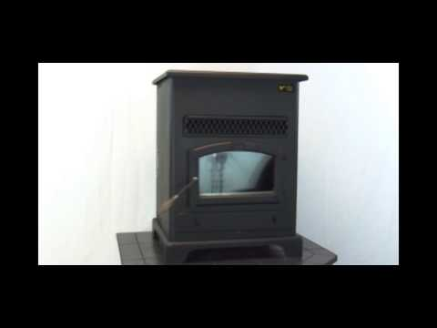 US Stove Large Pellet Heater with Ash Pan - 48,000 BTU, Model# 5520