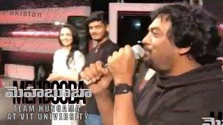 Mehbooba Team Hungama at VIT University | Puri Jagannadh | Akash Puri | Neha Shetty