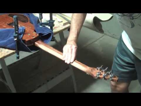 How To Reshape A Guitar Neck