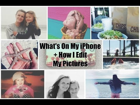 What's On My iPhone 5s + How I Edit My Pictures?!