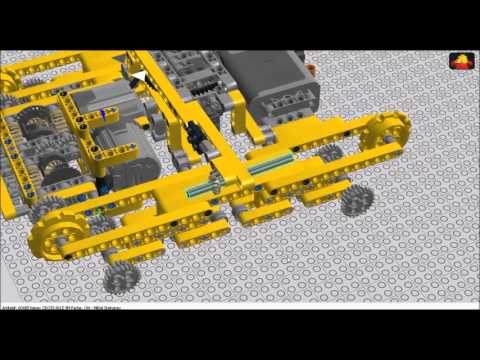 Lego Technic Building Instructions Trophy Truck Building