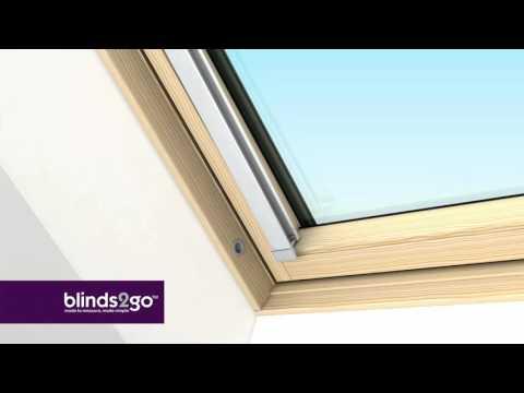 Fitting Our Blinds For Velux Fakro Rooflite Dakstra Skylight Windows