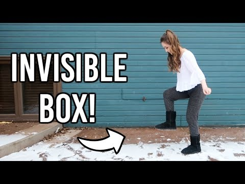 The Invisible Box Challenge!!