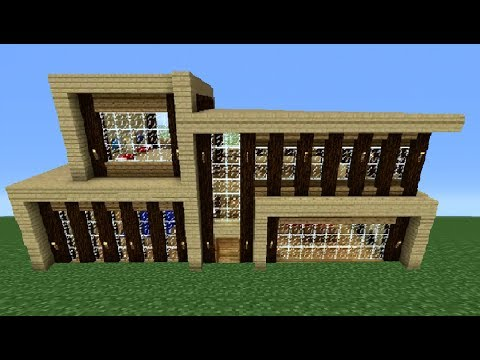 Minecraft 360: Modern House Tutorial (House Number 5)