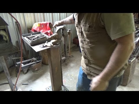 OSF Special Shop Time - Building A New Post Leg Vise Stand