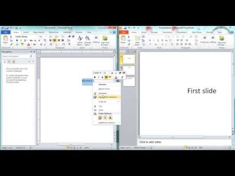 Creat hyperlink without underlined text in Microsoft Powerpoint